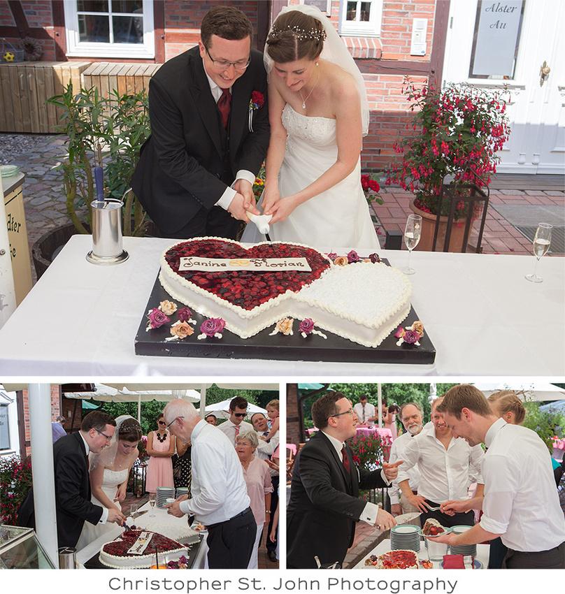 Hochzeitsfeier in Duvenstedt, Hamburg