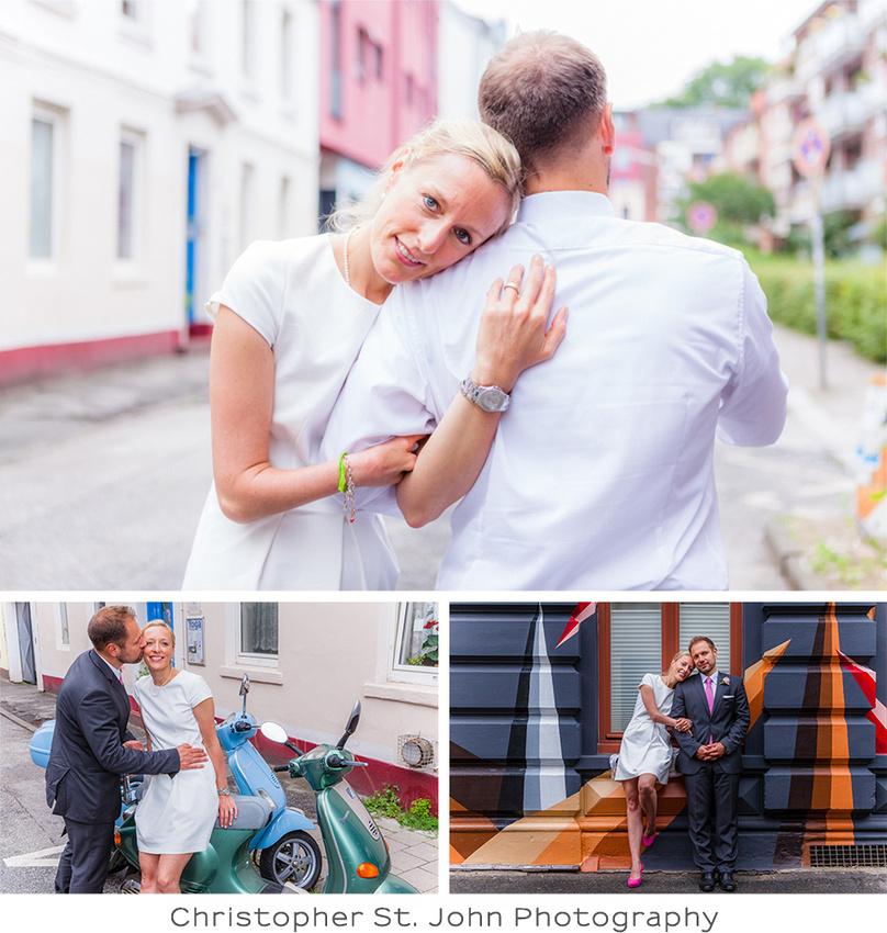 Rathaus Oststeinbek, Hochzeitsfotos in der Schanze in Hamburg
